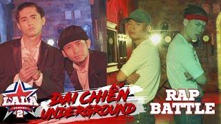 LA LA SCHOOL | BATTLE RAP : Seven & Kata VS Lăng LD & Ricky Star