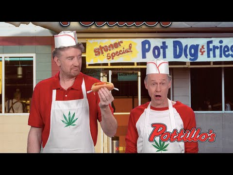 Showbiz Shelly - Colbert Makes Fun of Weed Sales In Illinois With 'Pottillo's' Sketch