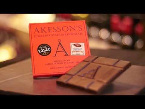 Akesson's Organic - 100% Criollo Cocoa - Great Taste Awards 2015 Top 50