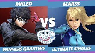 GOML 2019 SSBU - FOX | MkLeo (Joker) Vs. PG | Marss (ZSS) Smash Ultimate Tournament Winners Quarters