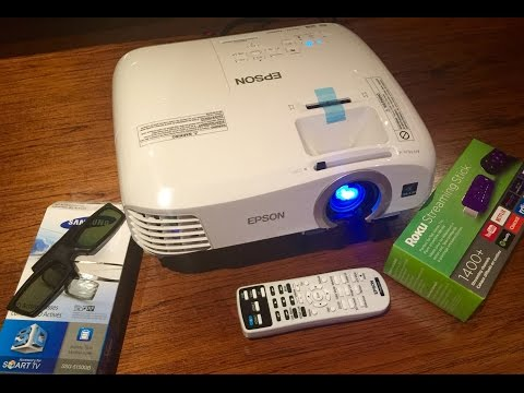 EPSON 2040 / 2045 / TW5210 3D 1080p 3LCD Projector Quick Review