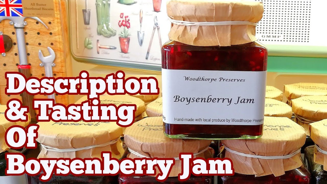 Boysenberry Jam Description And Tasting Allotment Kitchen Garden