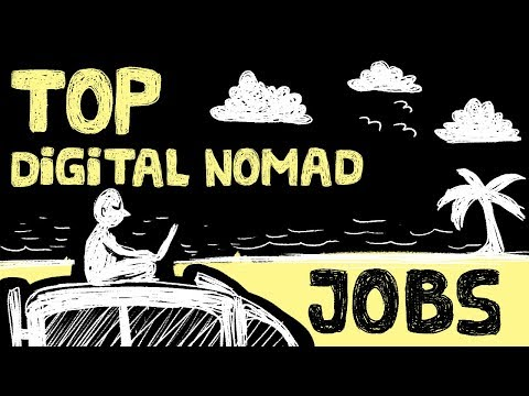 Top 8 Digital Nomad Jobs - Make Money Online Around the Worl