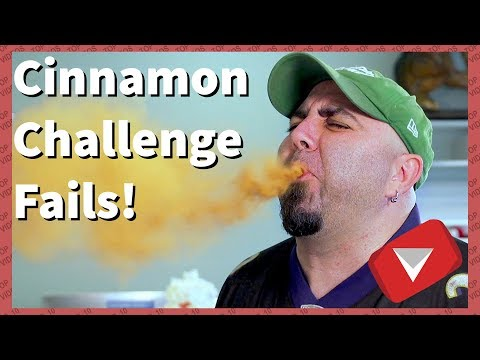 Cinnamon Challenge Gone Wrong [Funny] (TOP 10 VIDEOS)