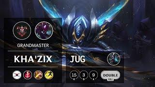 Kha'Zix Jungle vs Ekko - KR Grandmaster Patch 10.2