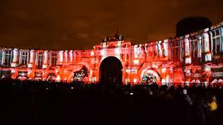 фестиваль света, Санкт-Петербург, Дворцовая площадь 04.11.2017