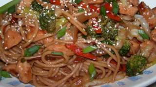 Chicken Lo Mein Recipe - Homemade Chinese Food