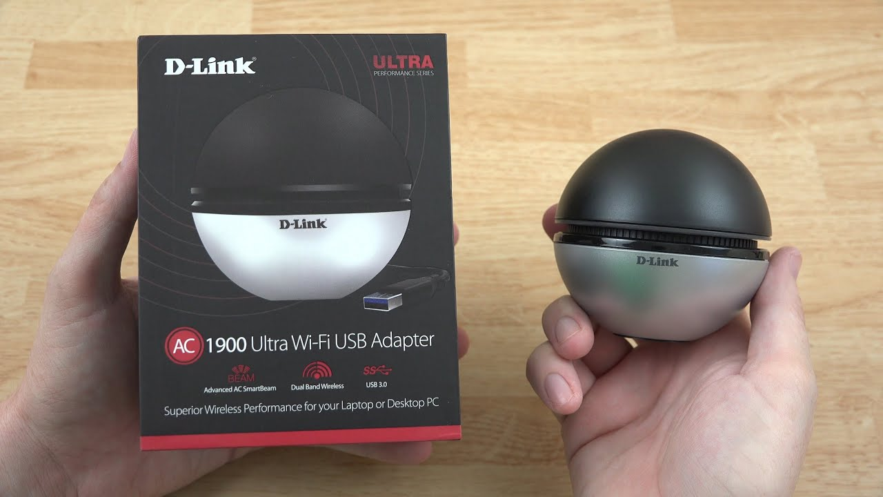 NEW D-Link DWA-192 AC1900 Wireless Dual Band Wifi USB 3.0 Adapter