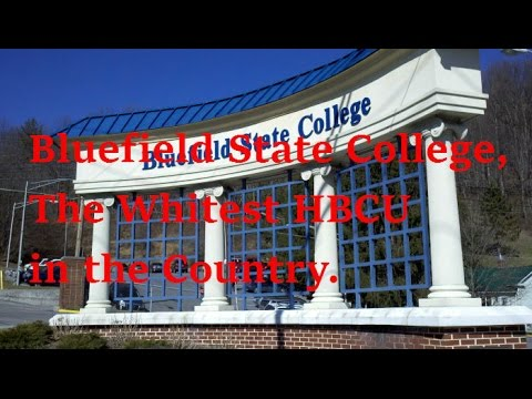 Bluefield State College, The Whitest HBCU in the Country.