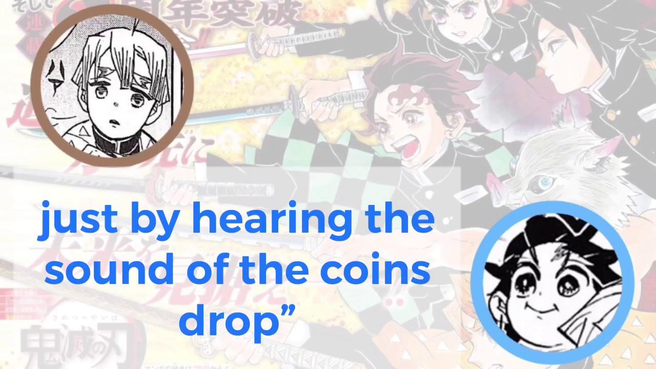 Kimetsu Radio! [Hanae Natsuki & Shimono Hiro] Zenitsu guesses the amount of money!? (ENG SUB)