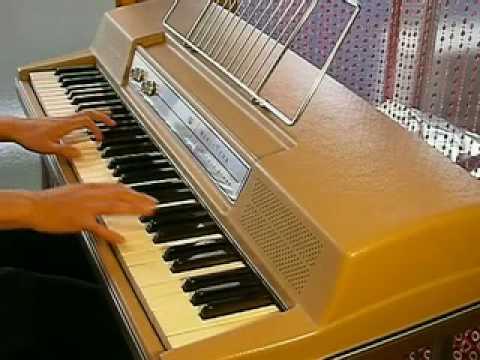 wurlitzer electric piano 200 beige top demo organ69 youtube. Black Bedroom Furniture Sets. Home Design Ideas