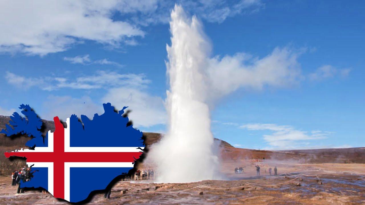 Islandia: Gejzery (i gotująca się woda przy drodze) - YouTube