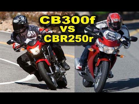 2015 Honda CB300F CBR300r Vs CBR250r Best Beginner Motorcycles