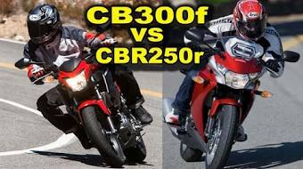 2015 Honda CB300F CBR300r Vs CBR250r Best Beginner Motorcycles