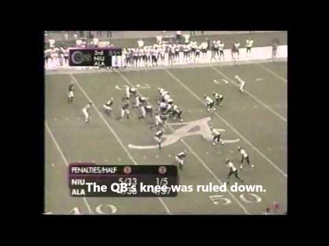 2003 Northern Illinois vs. #21 Alabama Highlights