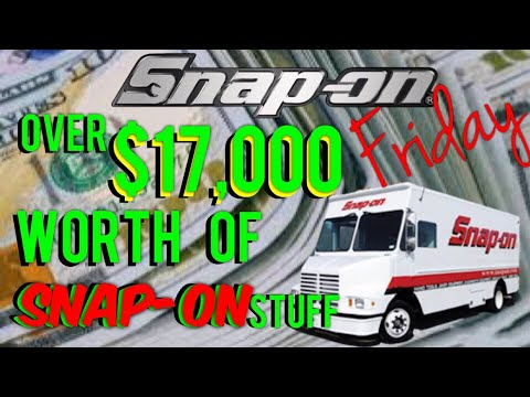 HUGE Snap On Tool Haul, Over $17,000 Worth In One Stop