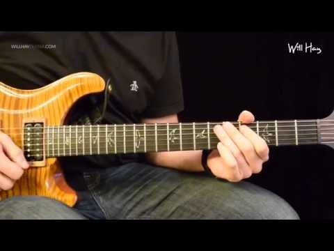 The Middle - Jimmy Eat World guitar solo tutorial full HD Tabs