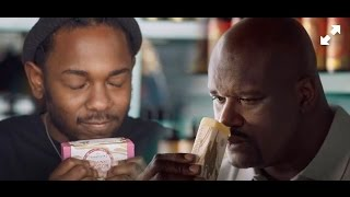 kendrick lamar shaquille o neal go soap shopping in a commercial 😂😂😂
