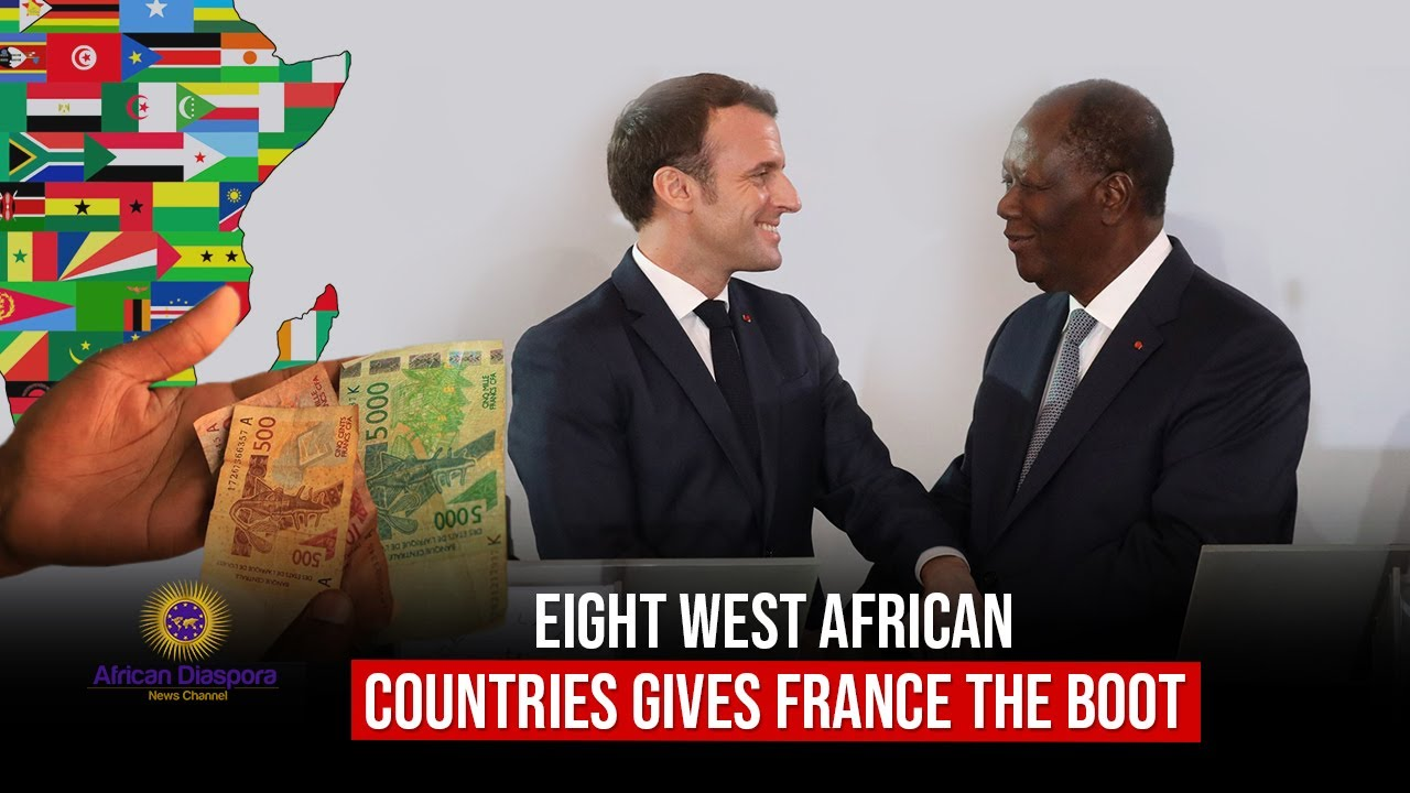 8 West African Nations Sever Colonial Era Financial Ties To France