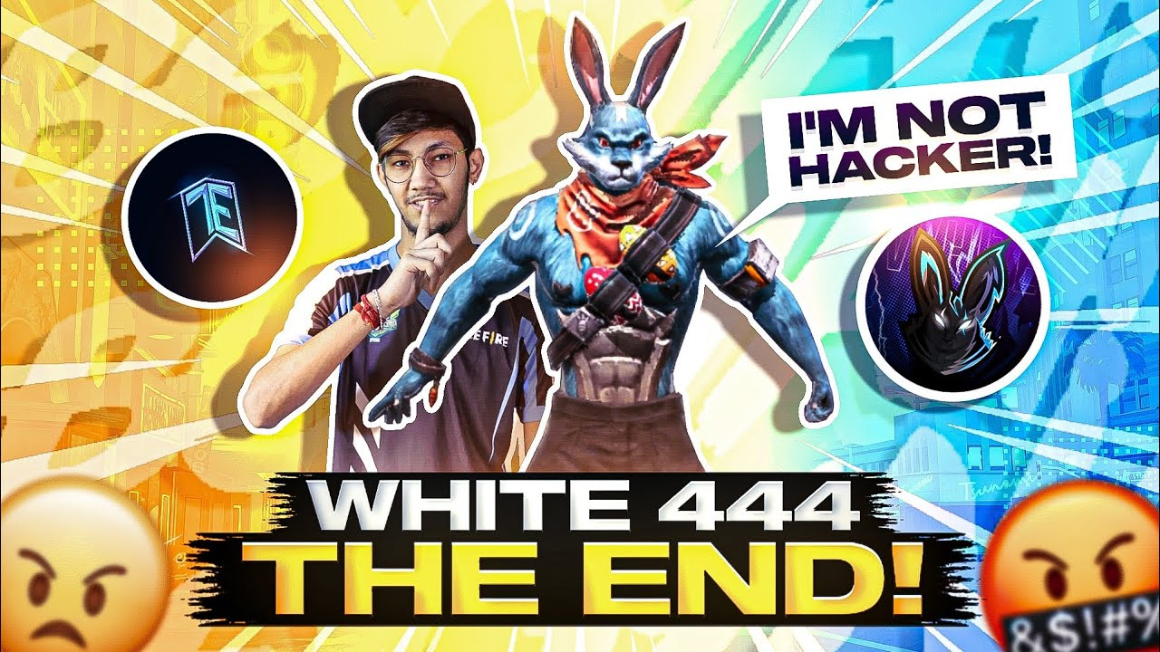 WHITE 444 HACKER   THE END   #FAMCLASHERS