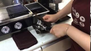2 포터필터 건조 및 청결 (바리스타 2급 자격증 실기…