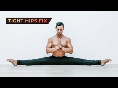 Hip Mobility Yoga Routine At Home (Follow Along)