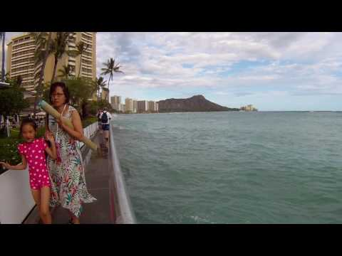 record 'king tides' in Waikiki's pounding heart