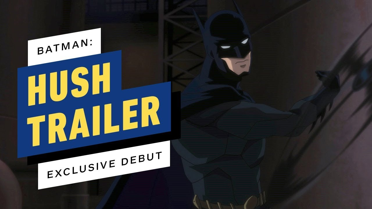 First trailer for animated Hush movie pits Batman against a