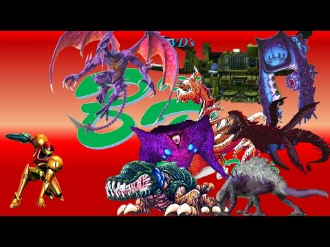 Metroid: Other M All Hard Mode Bosses