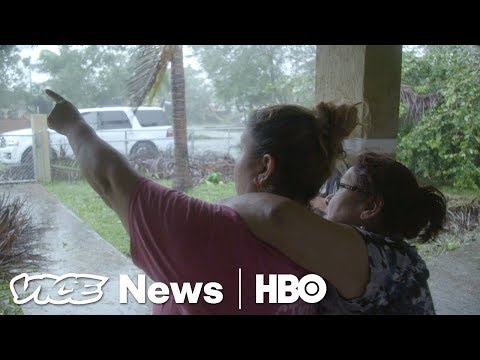 Hunkering Down In Florida For Hurricane Irma (HBO)