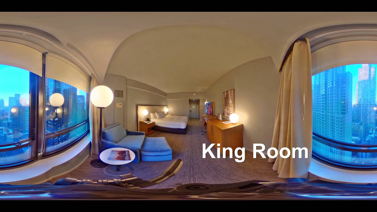 New York Hilton Midtown 360° - YouTube