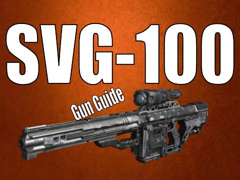 SVG 100 QUICK GUN GUIDE & BEST CLASS SETUP - Best Sniper Rifle in Black Ops 3 Gun Guide from YouTube · Duration:  3 minutes 40 seconds