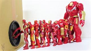 アイアンマン、ハルクバスター!マーベル スーパーヒーローがおもちゃ箱に飛び込む!