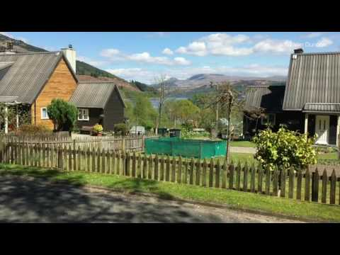 Ardentinny Beach and village Scotland - YouTube
