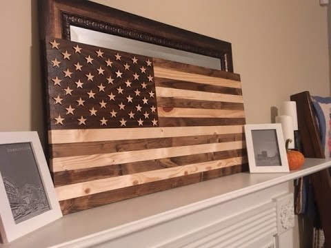 Build a Wooden Flag