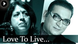 Love To Live - Kavita Krishnamurti & Abhijeet - Top Hindi Songs