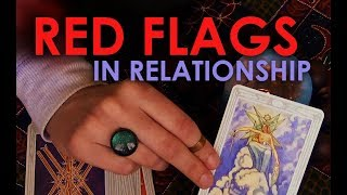 5 Signs of a Bad Relationship = Tarot Reading & ASMR = Red Flags to Watch Out For!