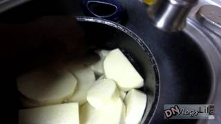 How to Cook Yam (Nigerian Breakfast) | Feb 15th 2014 DNVlogsLife