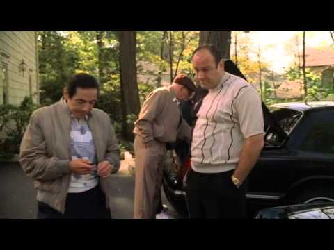 The Sopranos - Richie Gives Tony A Jacket