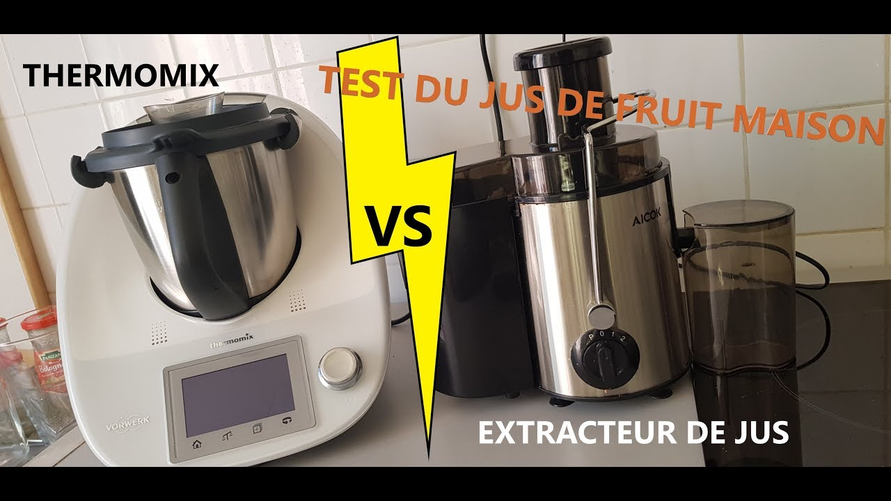 Thermomix Extracteur De Jus Thermomix Vs Extracteur De Jus Fight