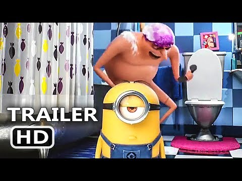"DESPICABLE ME 3 ""Let's Pee Pee"" Trailer (2017) Minions Animated Movie HD"