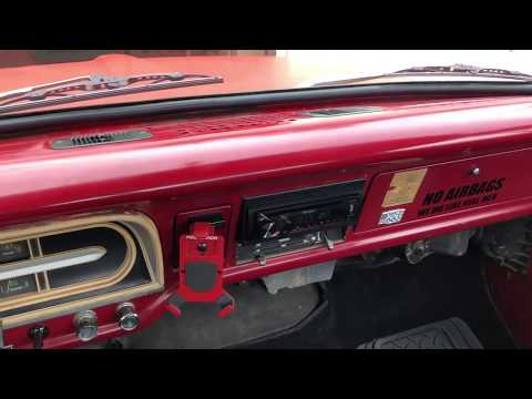 67-72 F100 Dash Pad Removal