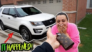 SURPRISED MY WIFE WITH HER DREAM CAR! (and more)