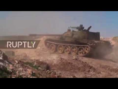 Syria War 2017   SAA declares eastern countryside of Palmyra IS free