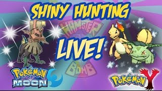 HamsterBomb LIVE Shiny Hunting Type: Null and Friend Safari!