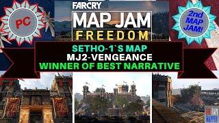 Far Cry Map Jam 2 Freedom Winner MJ2-Vengeance By Setho-1 for best Narrative