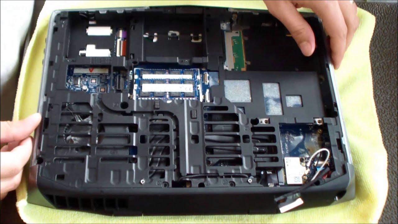 Alienware 14 Ac Dc Power Jack Repair (Loose Charge Port) - YouTube