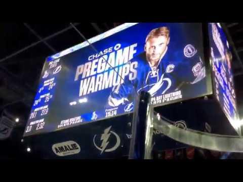 Tampa Bay Lightning Warmups 12/10/15 vs Ottawa Senators