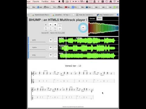 MT5, a multitrack player for musicians - miageprojet2