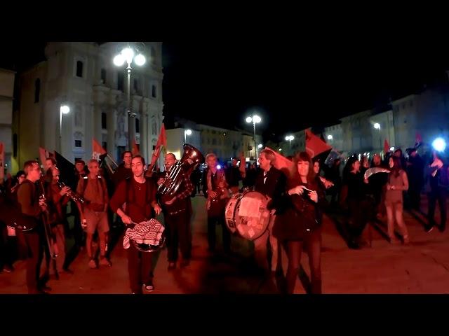 gorizia manifestazione antimilitarista